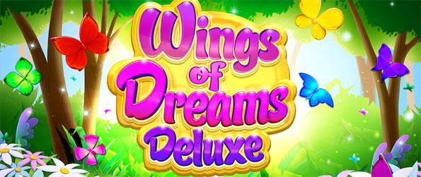 Wings of Dreams Deluxe - Match three or more butterflies in this enchanting puzzle game, Wings of Dreams Deluxe!
