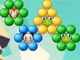 Free trapped animals in Bubble Shooter Team Battle