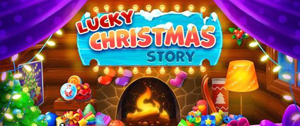 Lucky Christmas Story - Match the Christmas ornaments and complete the objectives in Lucky Christmas Story.