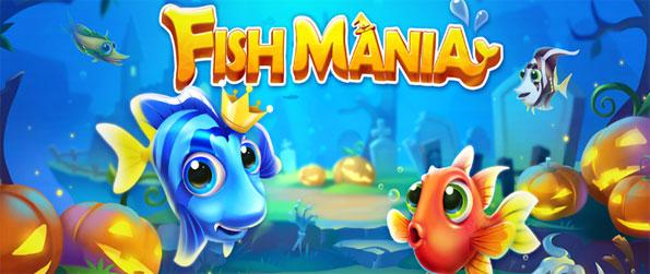 Fish Mania - Play this exciting match-3 game and manage your own fish aquarium.