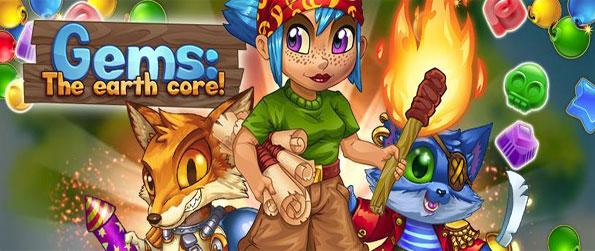 Gems: The Earth Core - Explore the mysteries that lie below the Earth's surface in this fun filled match-3 game.