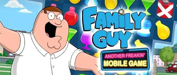 Family Guy Freakin Mobile Game - Beat the heat with Peter in this epic match-3 game.