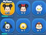 Levels in LINE Disney Tsum Tsum