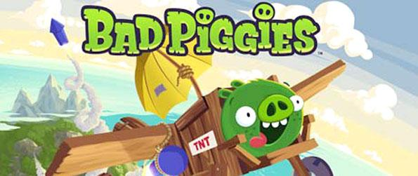 Bad Piggies HD - Make the perfect ride to take your piggy to the finish line.