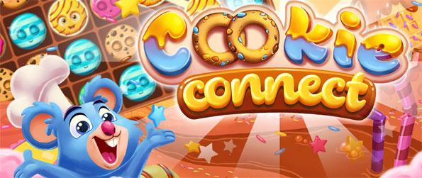 Cookie Connect - Chain up 3 or more cookies to clear them from the board and play with the adorable cast of characters in Cookie Connect!
