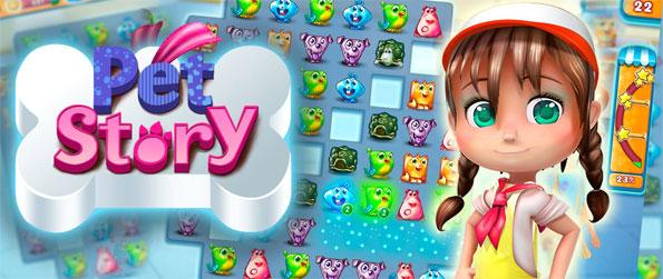 Pet Story - Match together cute little pets in this exciting match-3 game that doesn't disappoint.