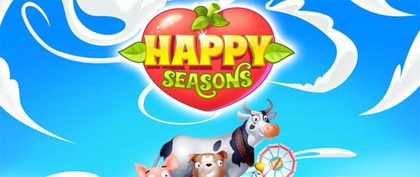 Happy Seasons - Play a Match 3 game based on a very familiar premise.