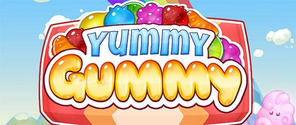 Yummy Gummy - Feed the hungry gummy bears candies in Yummy Gummy.