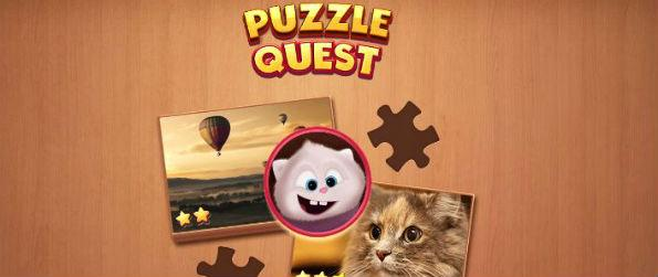 Jigsaw Puzzle Quest - Jigsaw Puzzle Quest gives you plenty of hours to measure your attention to detail, solve small to big puzzles, and get rewards.