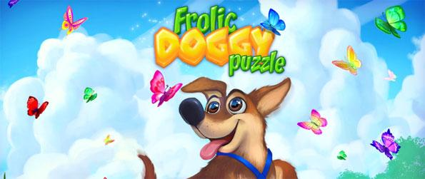 Frolic Doggy Puzzle - Match three or more butterflies in Frolic Doggy Puzzle.
