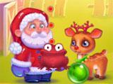 Christmas Eve Story Frog