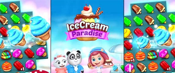 Ice Cream Paradise - Enjoy this exciting match-3 game that's sure to give you an addicting and engaging experience.
