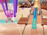 Rabbids Crazy Rush soaring through the skies