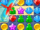 Clear Obstacles Pirates and Pearls Match 3 Puzzle