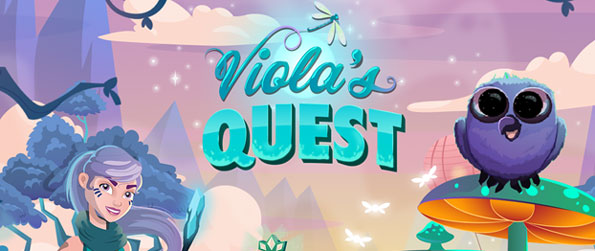 Marble Viola´s Quest - Help Viola and her friends stop the evil weasel, Desmond, from stealing all the marble magic in Marble Viola´s Quest!
