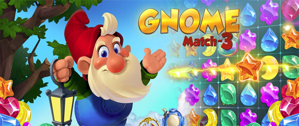 Gnome Match 3 - Help the Dwarf gather all the gold in this exciting match-3 game with much to offer.