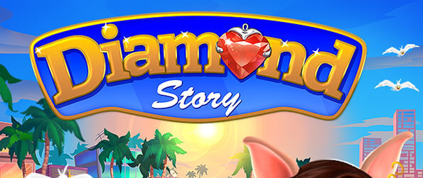Diamond Story - Help Ruby reclaim all the lost jewels held by the evil cat, Belly Bill.