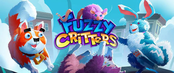 Fuzzy Critters - Help your pet make its way to the end of the pipe in this truly challenging, match-3 puzzle game, Fuzzy Critters!