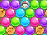 Solving Puzzle in Bubble Pop Adventures