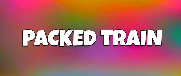 Packed Train - Pack in the required number of characters into the train, Tetris-style, in this one-of-a-kind puzzle game, Packed Train!