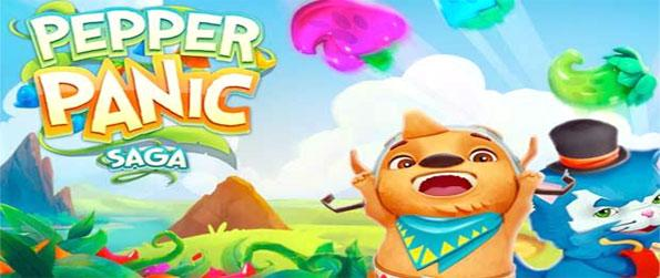 Pepper Panic Saga - Play the brand new fabulous match 3 game on Facebook from the makers of Candy Crush