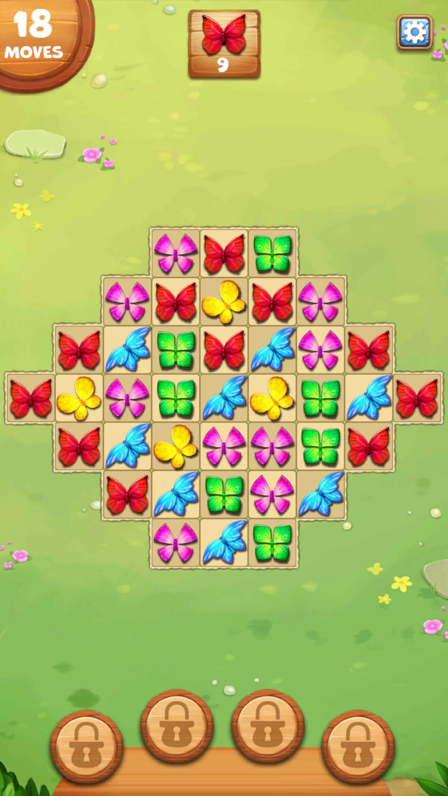 Butterfly Garden Mystery - Free Casual Games!