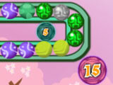 Zuma Ball: Earn bonus points with numbered circles