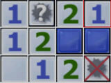 Minesweeper: Guessing the location of a bomb