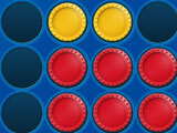 Playing as red in Connect Four