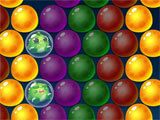 Primitive Bubble Shooter gameplay