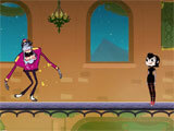 Hotel Transylvania Adventures trying to avoid monsters