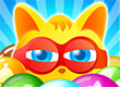 Bubble Super Cat game