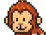 Color Pixel Art Classic: Coloring a monkey
