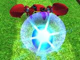Sonic Dash: Dashing into an enemy