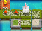 Solved puzzle in Bunny Quest