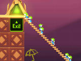 Lemmings : Building a Long Staircase