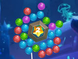 Sea Bubble Shooter: Pop all the bubbles to earn 3 stars