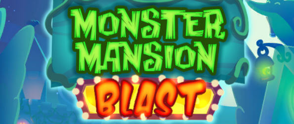 Monster Mansion Blast - Merge together and pop groups of yummy-looking candy blocks!
