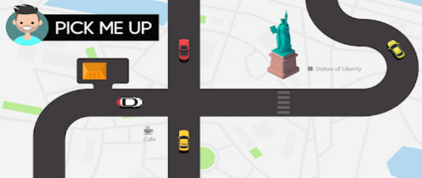 Pick Me Up - Explore the world and famous landmarks as you pick up and drop off customers!