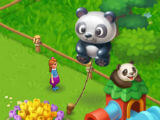 A Giant Panda Balloon in Wildscapes