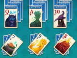 Faerie Solitaire Harvest Free: Starting a new level