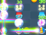 Colorful Rainbows in Sugar Shuffle