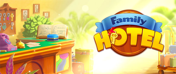 Family Hotel - Play this phenomenal match-3 game that's definitely a cut above the rest.