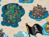 Bubble Pirate world map