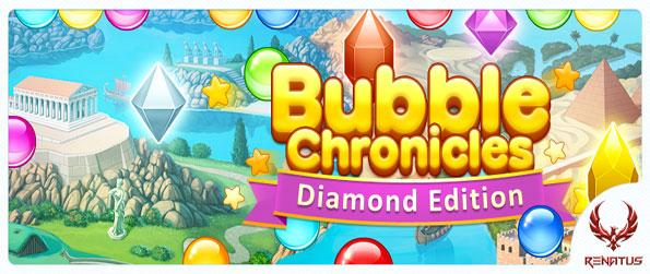 Bubble Chronicles Diamond Edition - Travel through time and find power for your machine as you shoot bubbles in this amazing Facebook Game.
