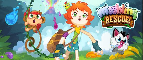Moshling Rescue - Rescue these cute beasts in this amazing free Facebook Game.