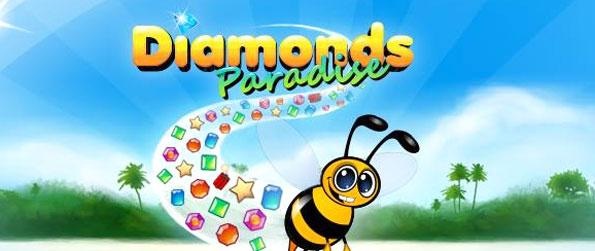 Diamonds Paradise - Enjoy a game where you play against someone else in fast paced gem matching action.