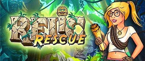 Relic Rescue - Recover ancient artifacts in a stunning new Bubble Shooter game.