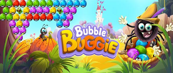 Bubble Buggie - Enjoy a fantastic new bubble shooter full of cute levels and ladybugs!