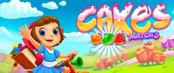 Cakes: Match 3 - Enjoy this delightful match-3 game with a brilliant theme to keep you interested.